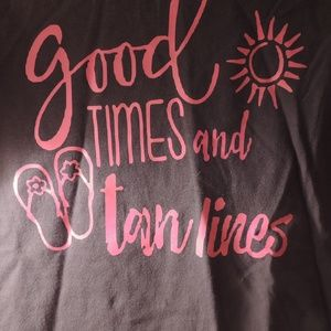 Good Times and Tan Lines size M Gildan new